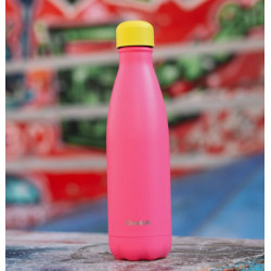 BOUTEILLE ISOTHERME QWETCH FLUO ROSE