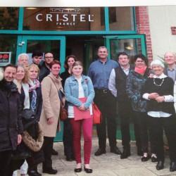 Visite de l'usine Cristel