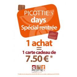 """Picottie's days """" spécial rentrée"""""""