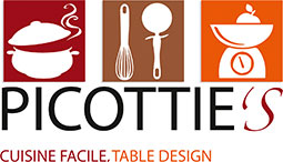 Picottie's, Cuisine facile & Table design